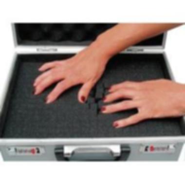 e687da5674534 Hliníkový kufr s pěnovou výplní Viso STC961P, 520 x 280 x 100 mm ...