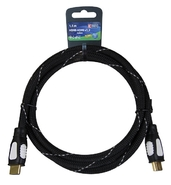 Kabel HDMI - HDMI 1,5M NYLON ECO