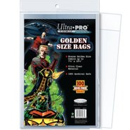 UltraPRO: Comic  Store Bags  - GOLD
